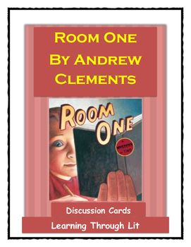 andrew clements room one discussion cards listening skills rh pinterest com Silver by Gloria Whelan Pictures of Author Gloria Whelan