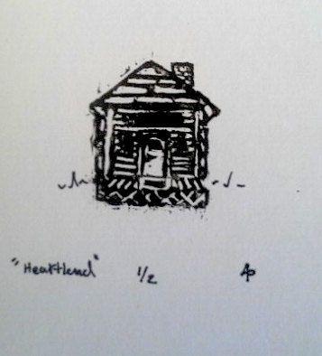 Heartland Home/House Framed Illustration