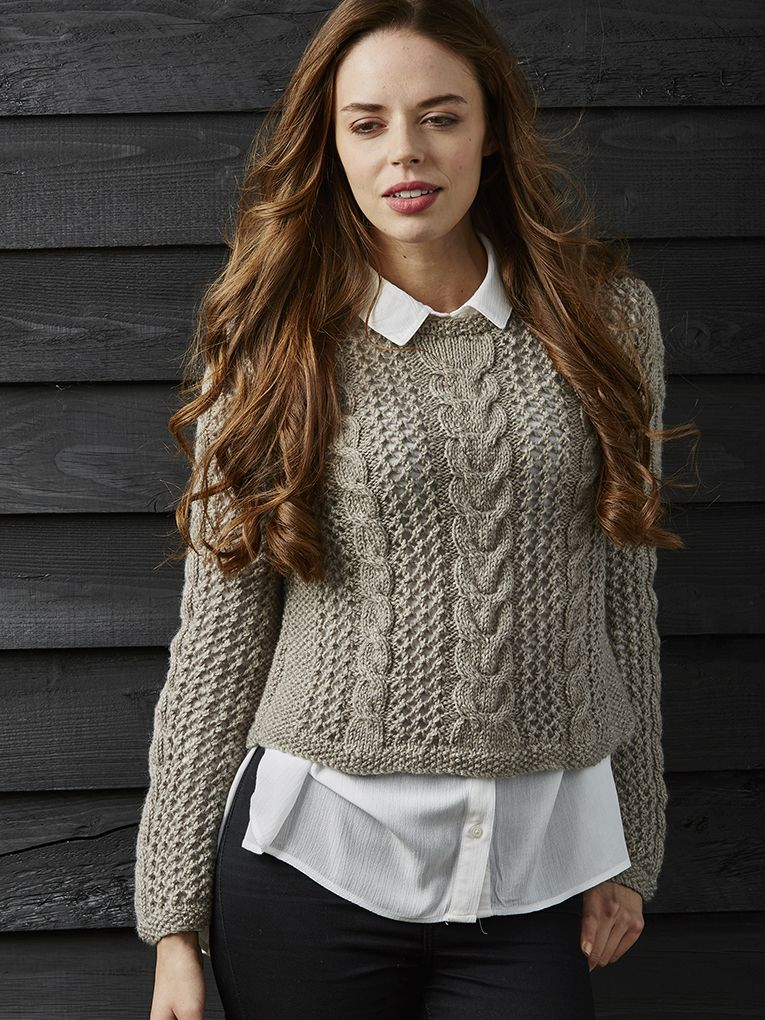 Zara Pattern | Knit Rowan | Knitting patterns: one colour/yarn ...