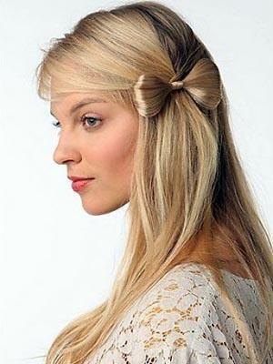 too cute hair bow