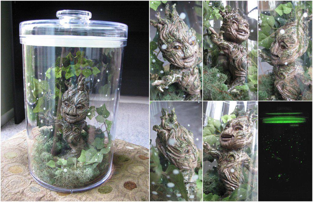 Baby Groot Terrarium by SerenaGuerra.deviantart.com on @deviantART