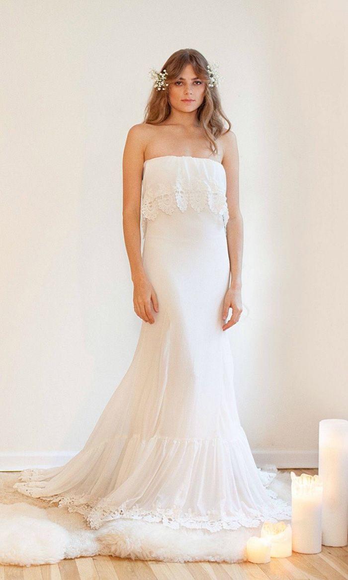 10 Slim & Sleek Wedding Gowns | Pinterest | Gowns, Wedding dress and ...