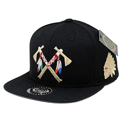 b21c322f648 FIELD GRADE Crossed Tomahawks Black Gold Snapback Review