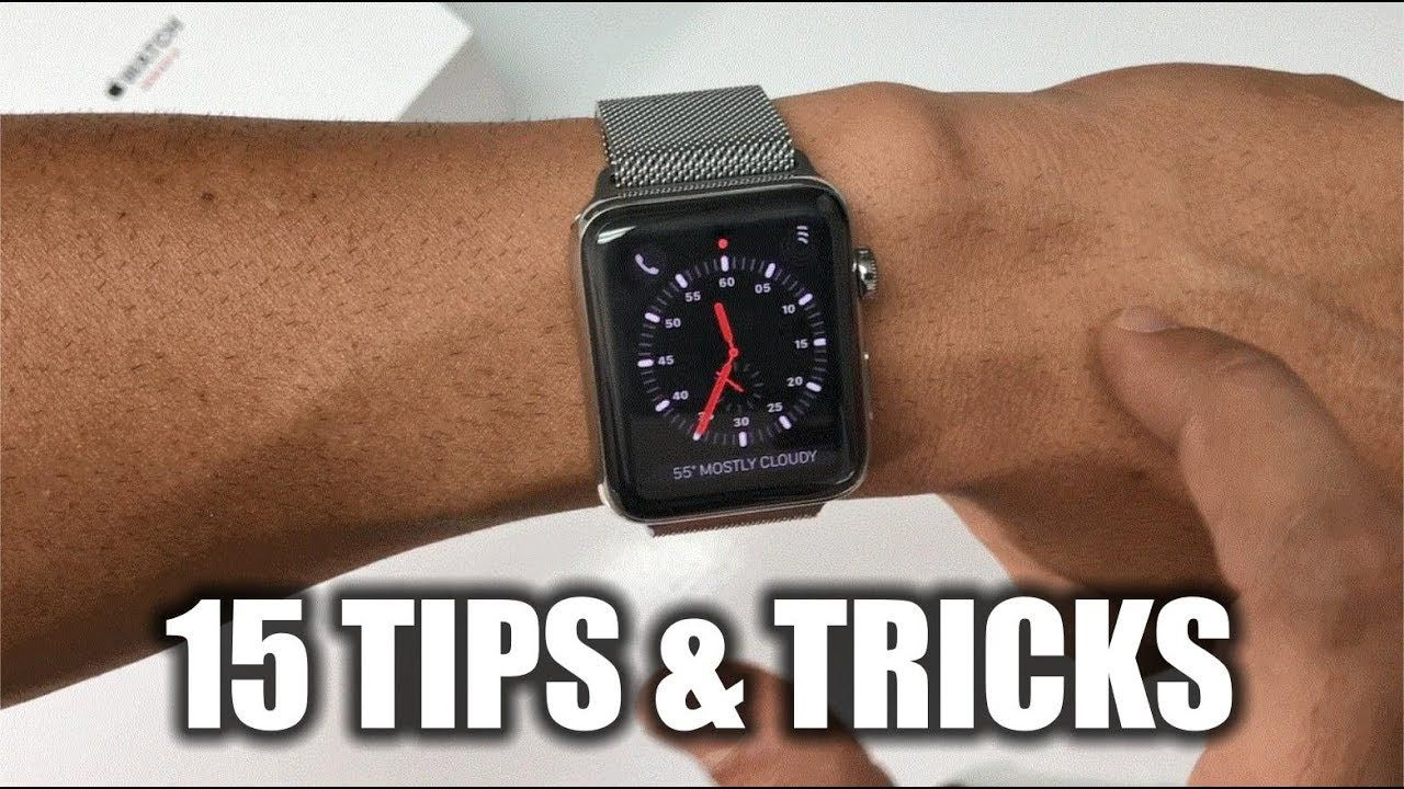 15 Best Tips & Tricks for Apple Watch Series 3 YouTube