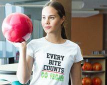 Go Vegan T-Shirt - Every Bite Counts T-Shirt