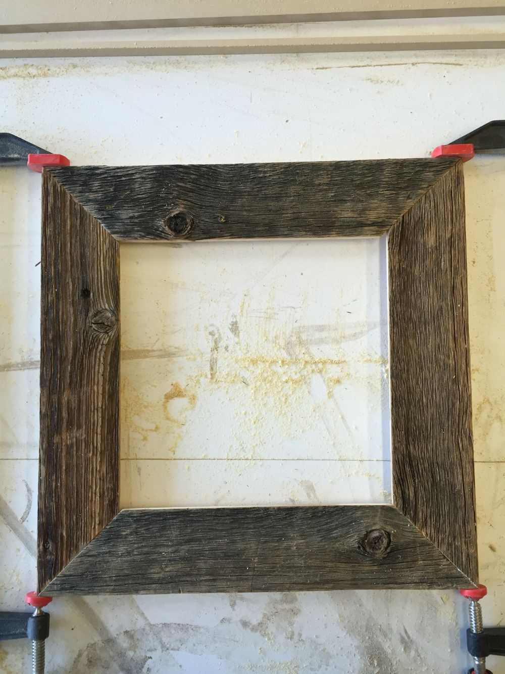 100 year old barn wood picture frame. | Design | Pinterest