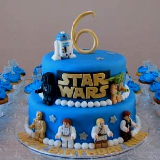 Lego Star Wars Birthday Cake I Need To Find For Mauro S 6th