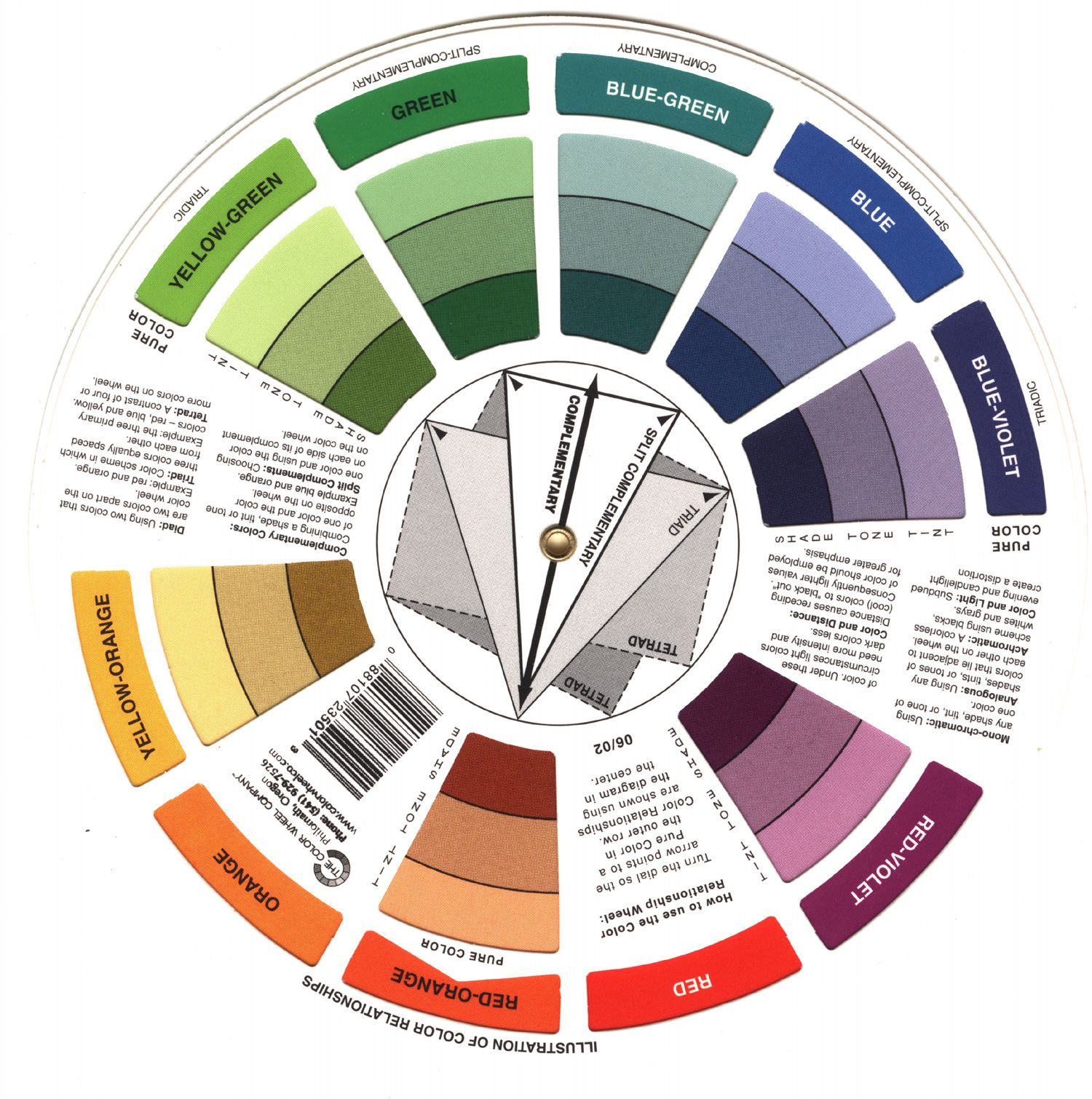 Цветовой круг освальда скачать бесплатно программу