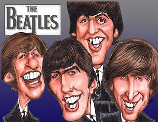 Famous People Caricature Art - Bing Images.Beatles.