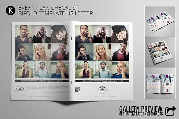 Event Plan Checklist US Letter Template - Event Plan Template