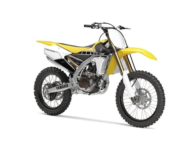 Yamaha 2016 Yz250f 60th Anniversary Yellow Premiers Sons