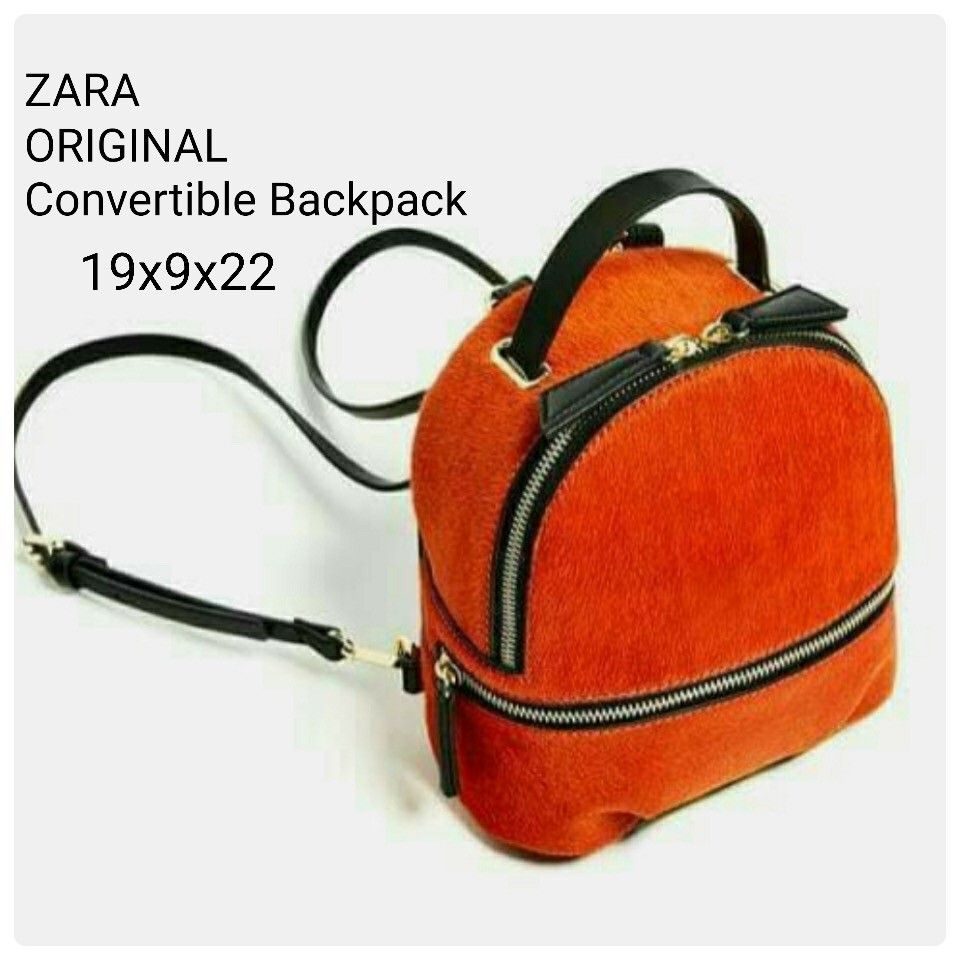 Tas Ransel Zara Convertible Backpack Ori 7112 19x9x22 245rb  aa88eb4770