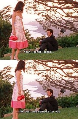 The OC. How perfect it is that they tie it all together. Seth and Summer equal perfection.