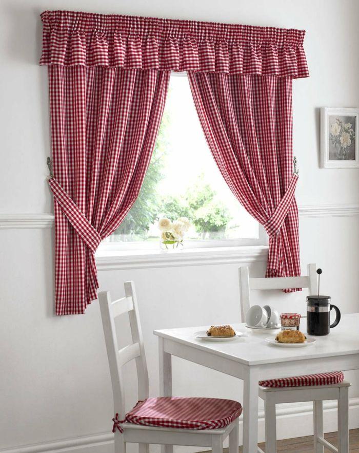 Telas cortinas ejemplo de cortinas para la cocina de for Cortinas de tela para cocina