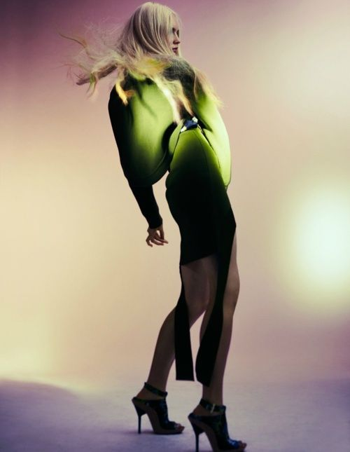 """""""Neon"""" photographed by Peter Gehrke for Bon (Winter 2011)."""