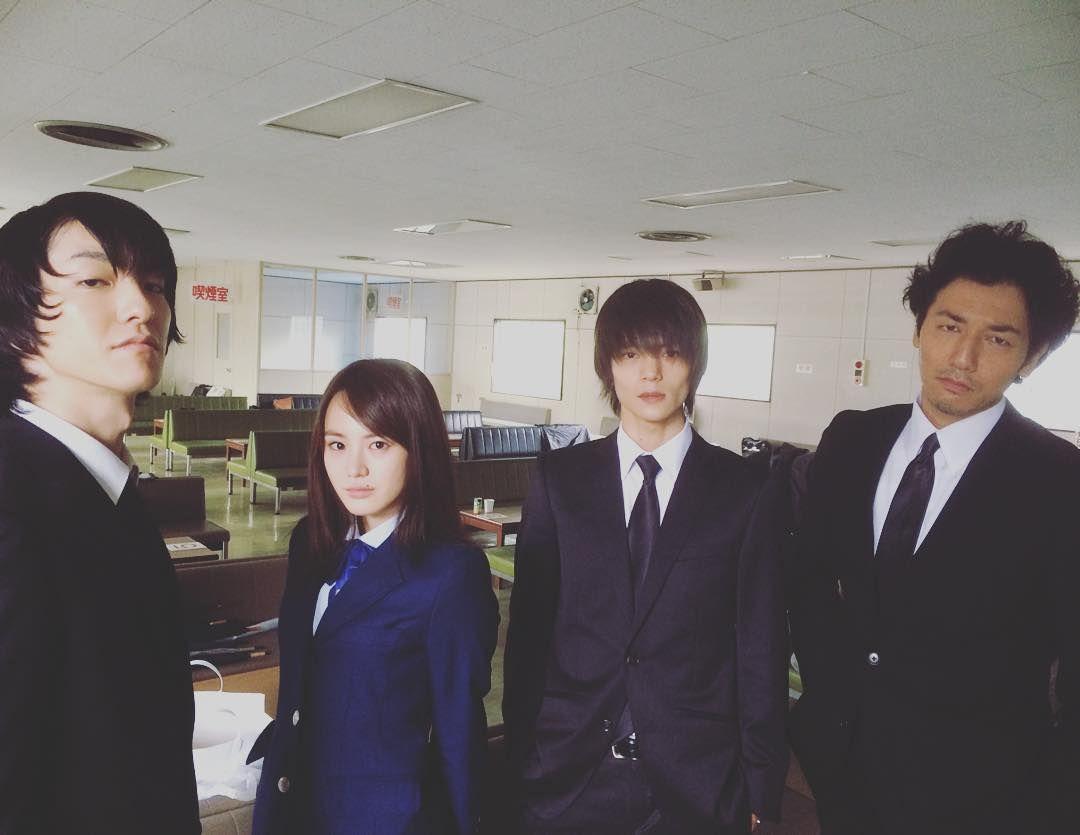 "Gouki Maeda, Reiko Fujiwara, Masa, Tomohisa Yuge, J drama series ""Death"