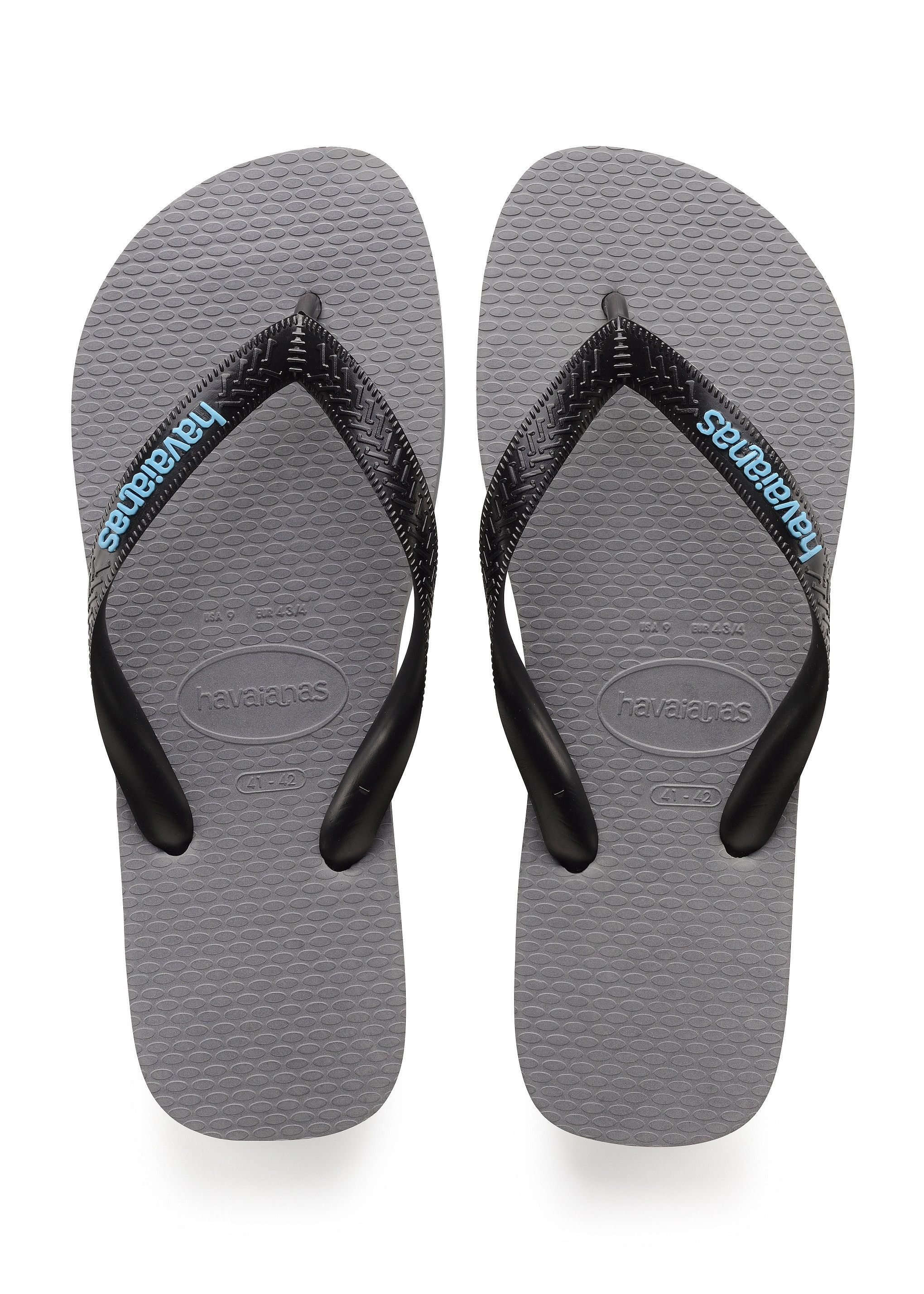 ed2f535680a Havaianas Top Logo Filete Sandal Steel Grey Price From  £19.36
