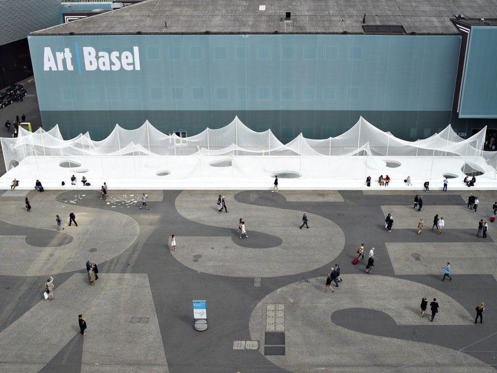 Messe , Basel, Switzerland, image courtesy Daniela & Tonatiuh.