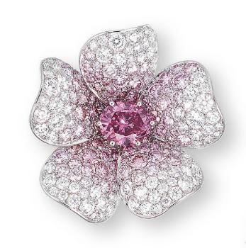 Sunday Eye Candy 6 Pink Diamond Floral Jewellery Jewels