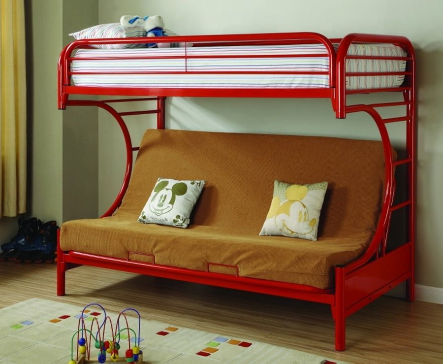 Twin Over Futon Bunk Bed Assembly Instructions In 2020 Bunk Beds