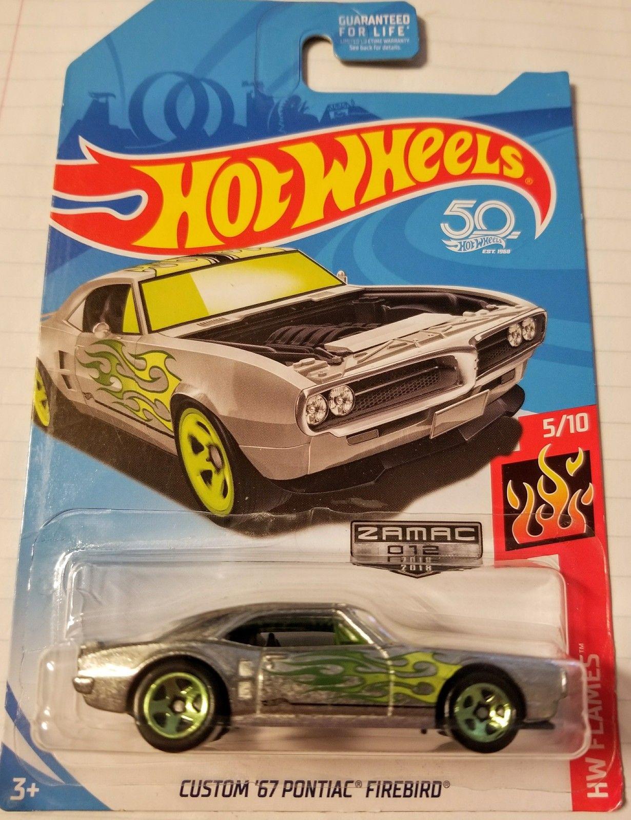 Hot Wheels 50th Anniversary Hw Flames Custom 67 Pontiac Firebird Hotwheels 2016 Bmw M2 Biru Zamac