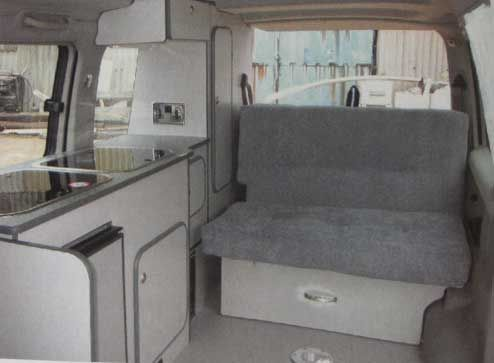 Camper Van Home Builder Furniture And Layout Examples