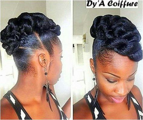 25 Updo Hairstyles For Black Women Black Updo Hairstyles Black Hair Updo Hairstyles Natural Hair Updo Natural Hair Styles