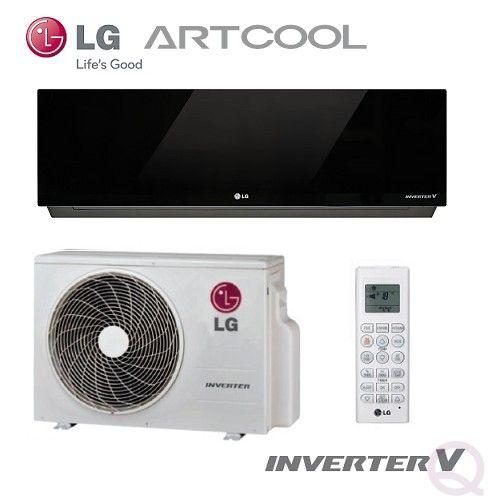 Lg Artcool Mirror A Ll Rl Nsn Nsc Wall Mounted Inverter System