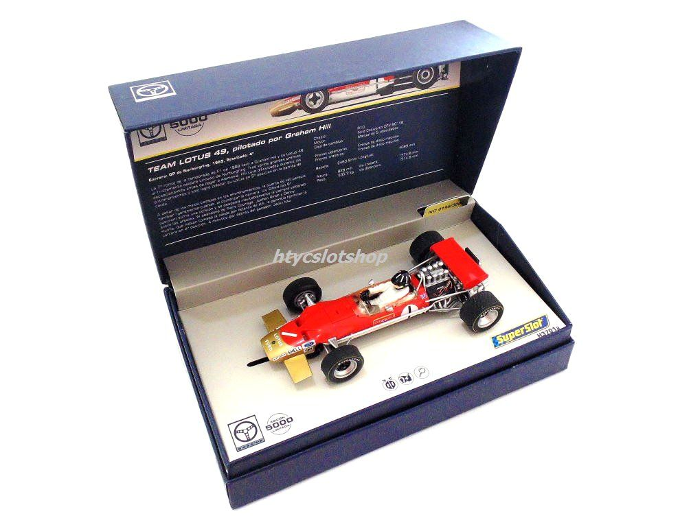 Team Lotus 49 #1 Graham Hill GP Nürburgring 1969 by Scalextric UK