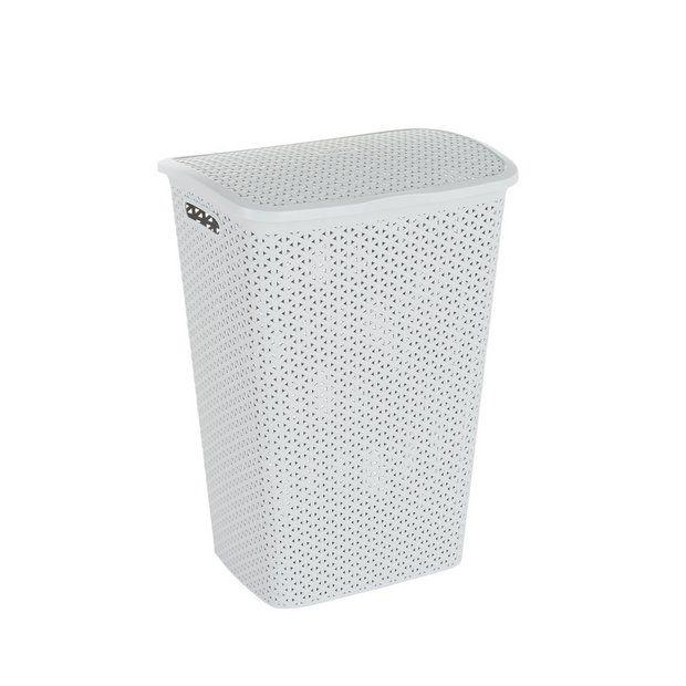 Buy Curver 55 Litre Laundry Hamper - Grey | Linen baskets ...