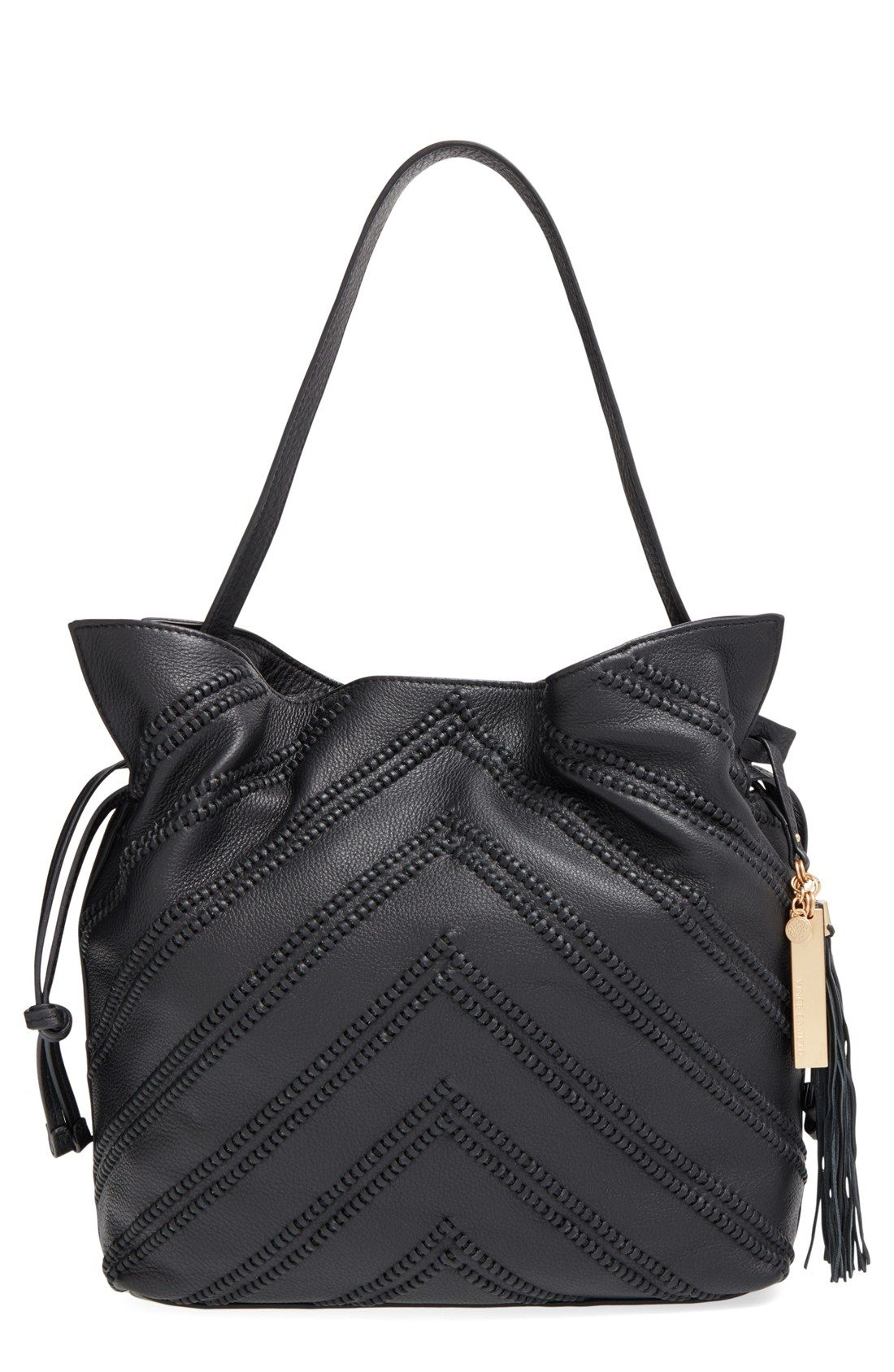 Vince Camuto Nella Leather Hobo Bag