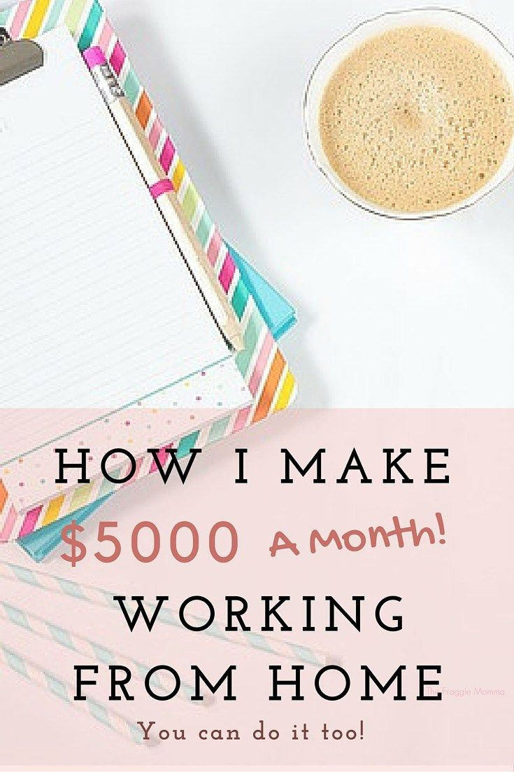 How I Make Over $5000 a Month as a Stay at Home Mom | Business ...