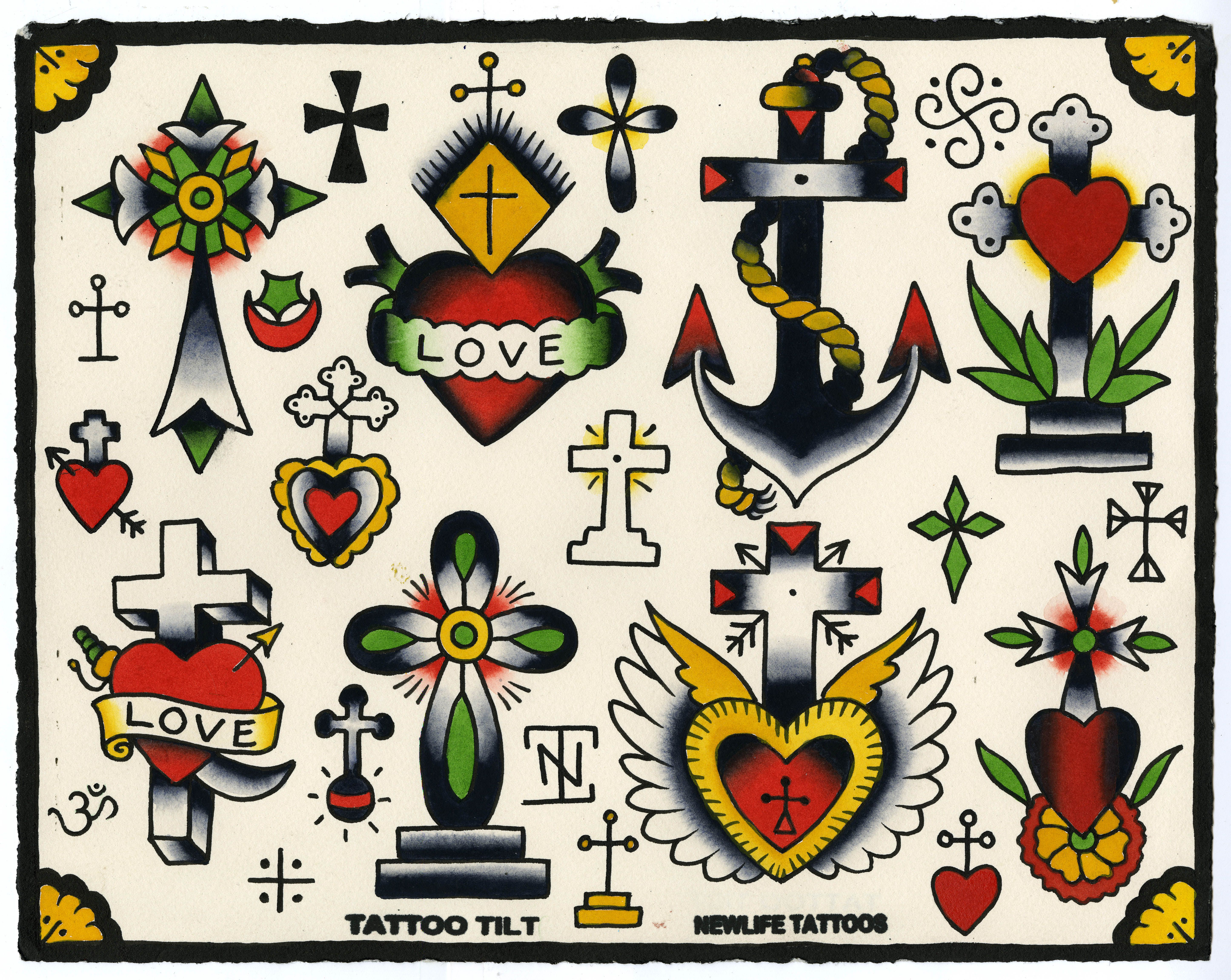 lyle tuttle tattoo flash cerca con google traditional flashset insp pinterest tattoo. Black Bedroom Furniture Sets. Home Design Ideas