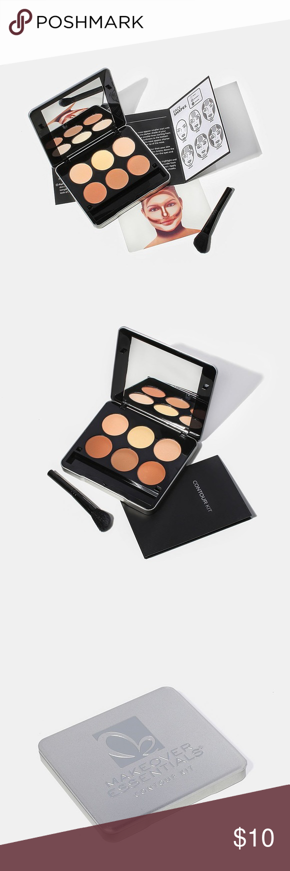 Makeover Essentials Contour Kit • Palette with 6