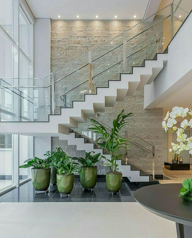 Staircase Ideas For Your Hallway That Will Really Make An: Cool Staircase Ideas. ... Stairs With Beadboard Risers