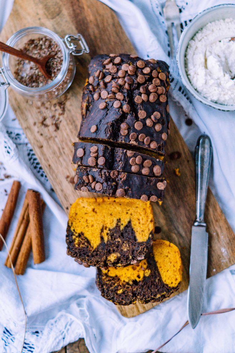Schokoladen Kürbis Kuchen #pumpkindesserts