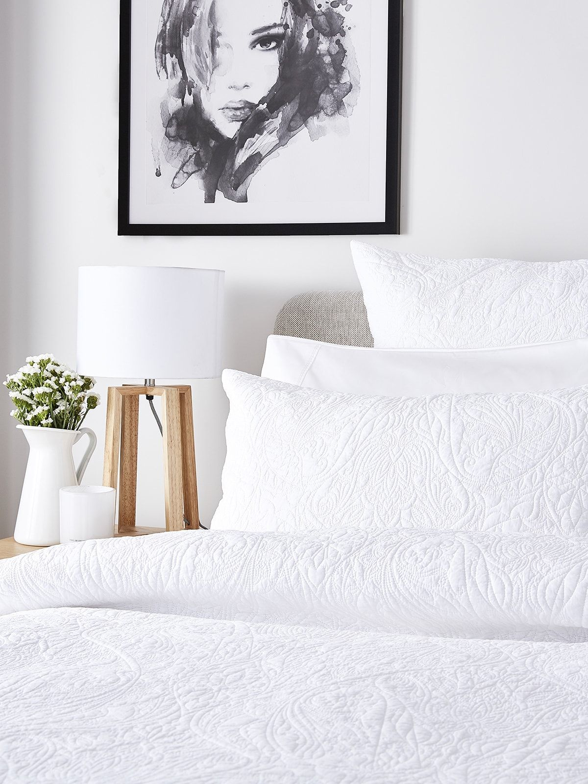 These All White Bedroom Ideas Will Keep Your Bedroom Feeling