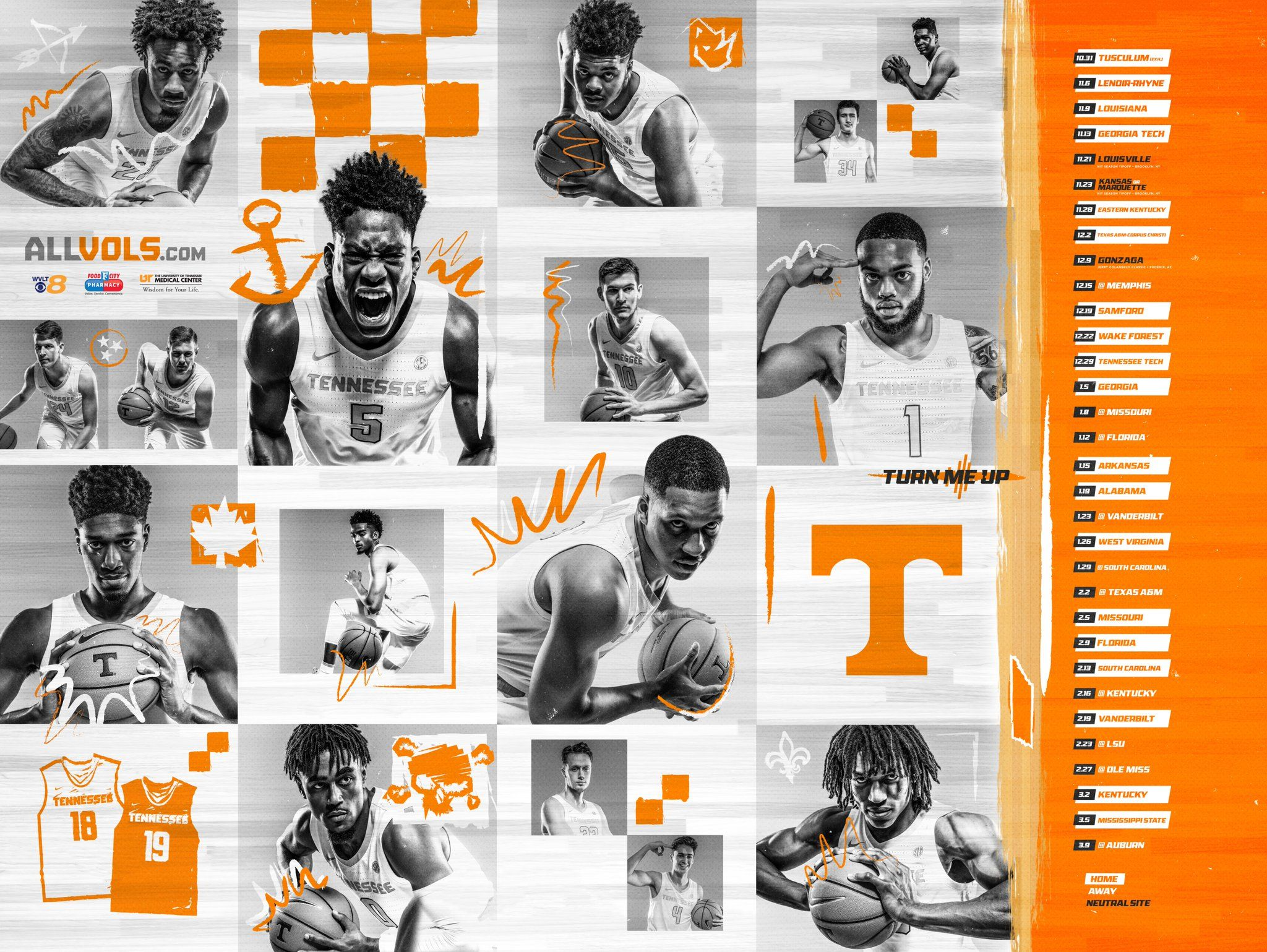 Twitter Tennessee football, Tennessee, Sports graphics