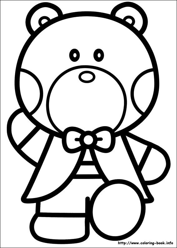 Hello Kitty coloring picture | Hello Kitty | Pinterest