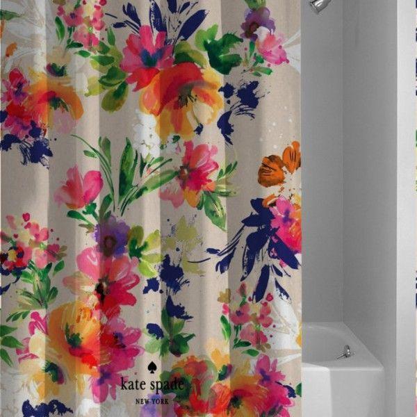 Hot Design Kate Spade Vintage Floral Custom Shower Curtain