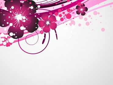 Abstract Backgrounds Download A Completely Free Purple Floral Design Powerpoint Template Now