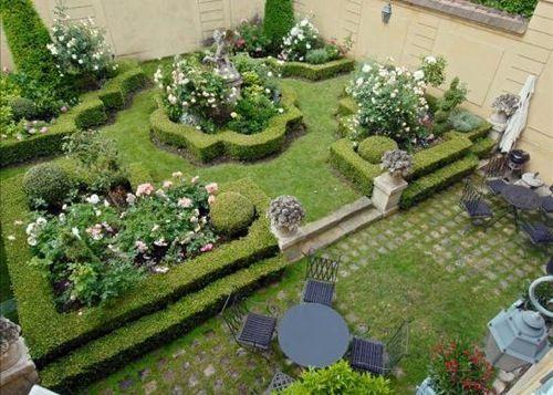 a structured french garden Ideas-jardín Pinterest Ideas jardin - paisaje jardin