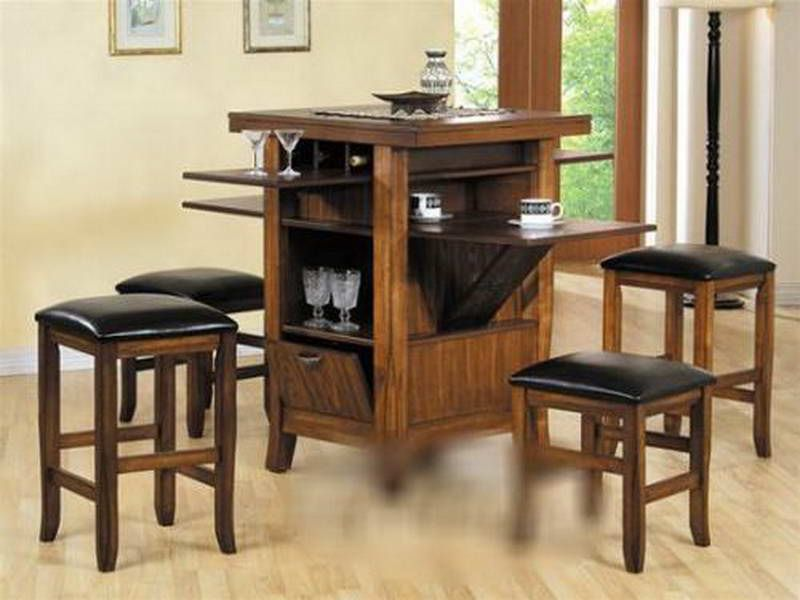 Counter Height Kitchen Tables With Storage With Coffee Sets