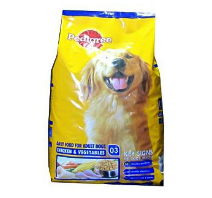 Pedigree Dog Food Adult Chicken Vegetables 15 Kg Pedigree