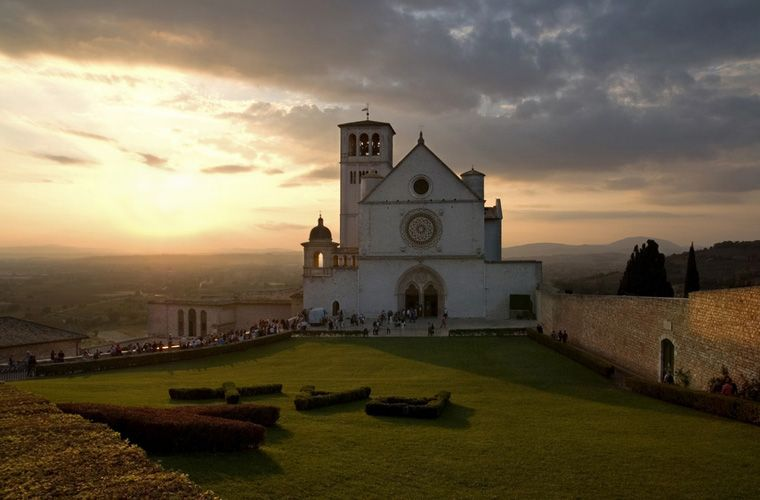 Basilica of st. Francis of Assisi - one of our favourite days.
