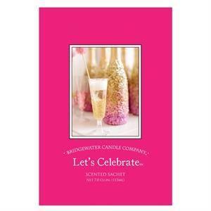 Bridgewater Candle Geurzakje Let's Celebrate een heerlijk luxeuze sprankelende geur