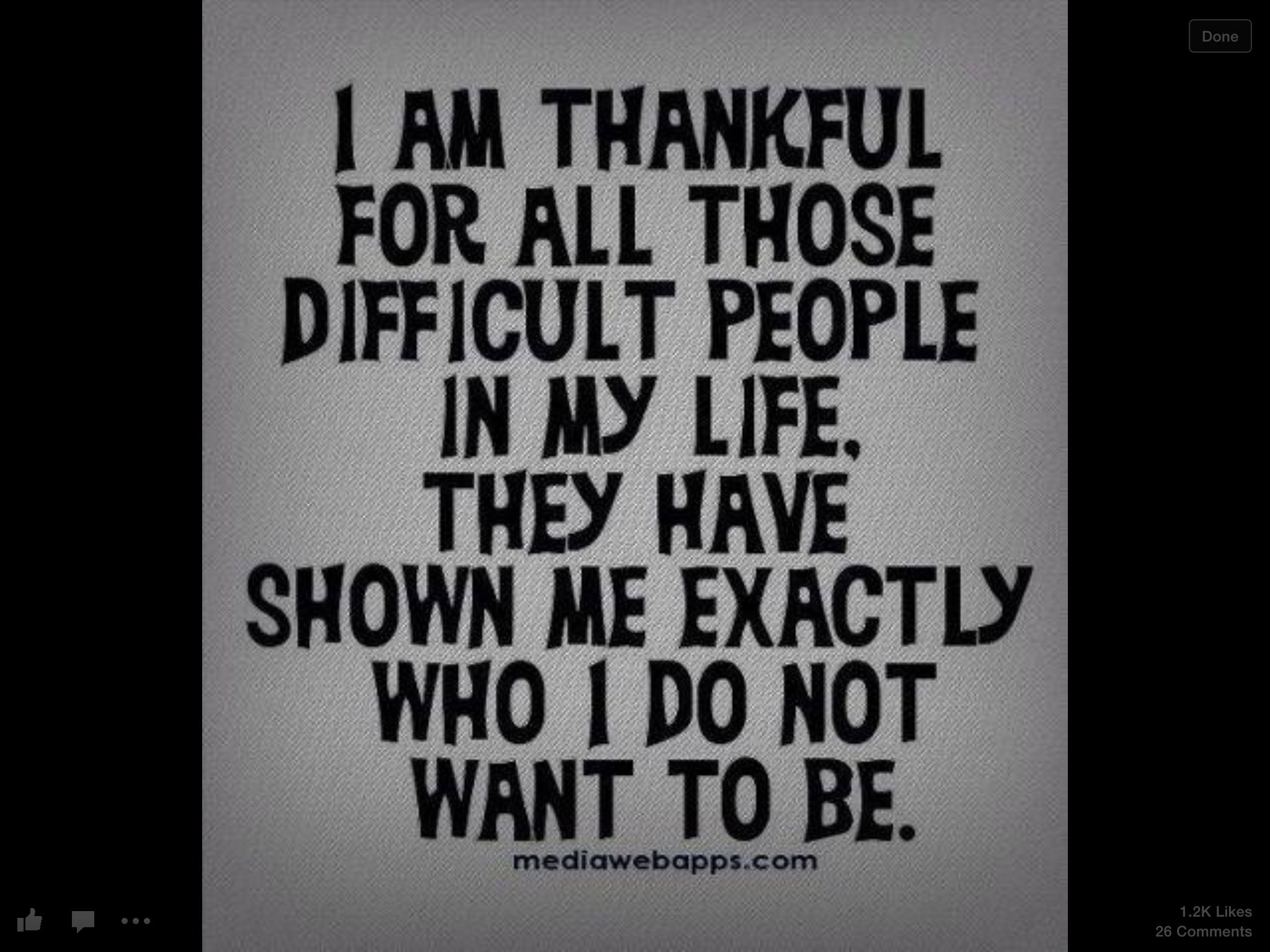 Thankful For Difficult People