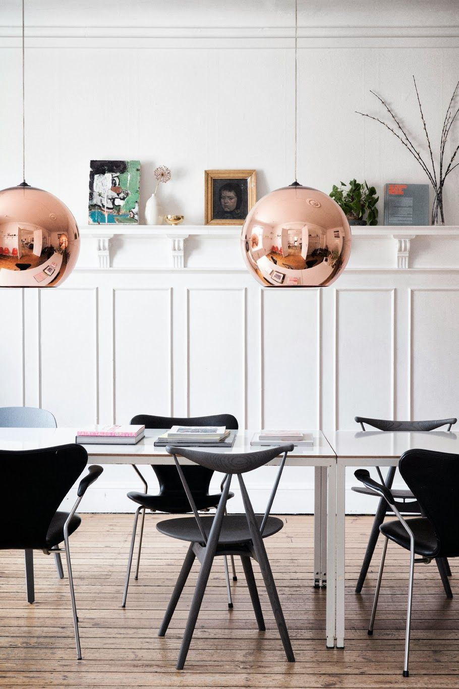 Source The Klein Ahhh The Tom Dixon Copper Shade Home Trending Decor Interior