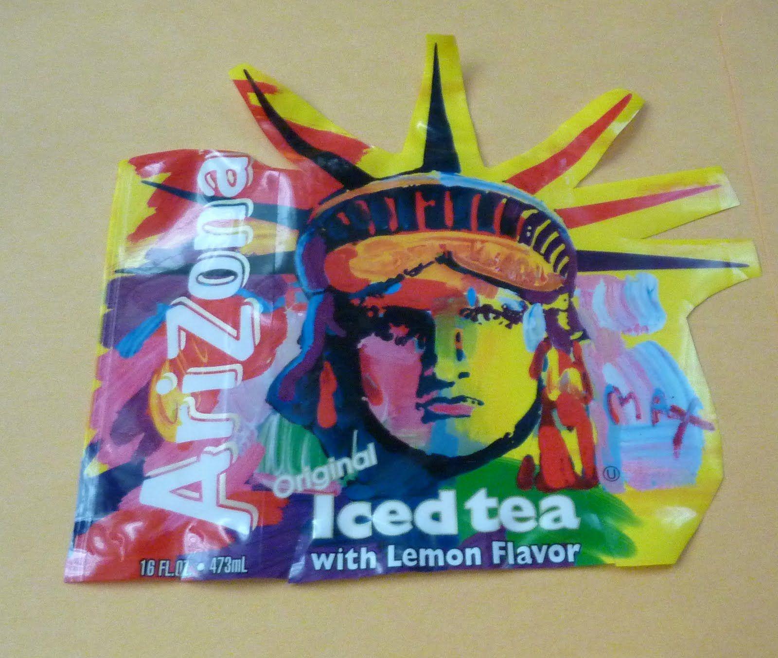 Arizona Ice Tea Peter Max Statue Of Liberty