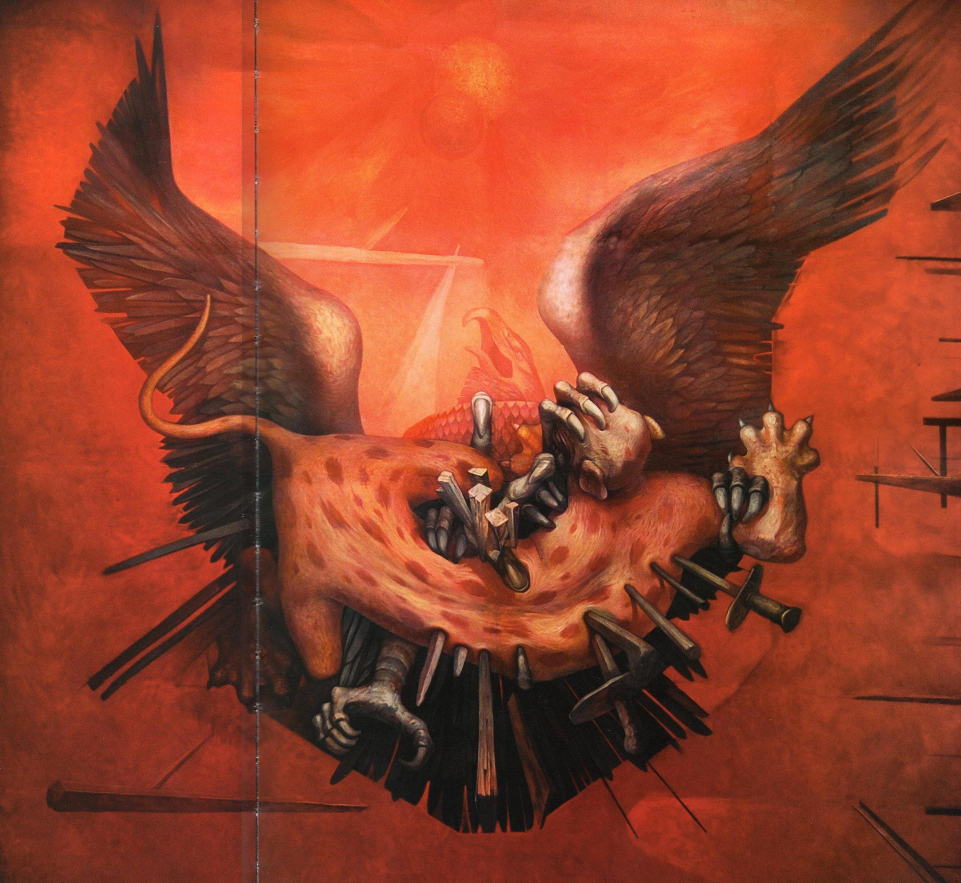 """Mural """"histrica"""" De Jorge Gonzlez Camarena Cubo Artstico Del Senado Plaf La Escalera"""